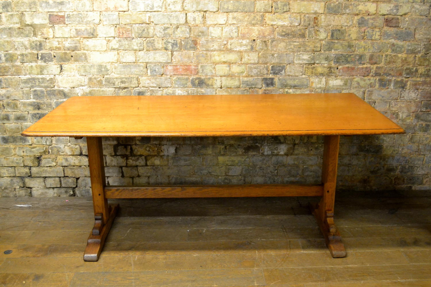 1930s Oak Dining Shop Display Table