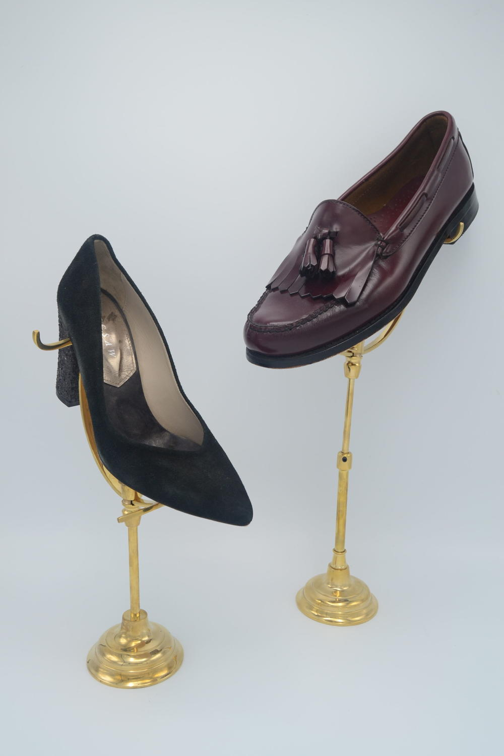 Vintage Style Shoe Stands