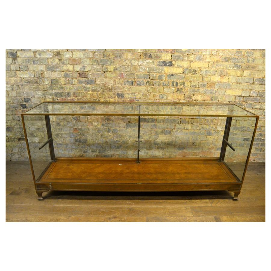 Vintage Bronze Shop Display Counter