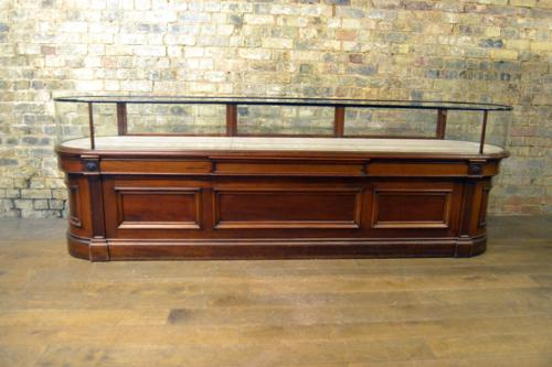 Rare Victorian Mahogany Jewellery Bow Shop Counter