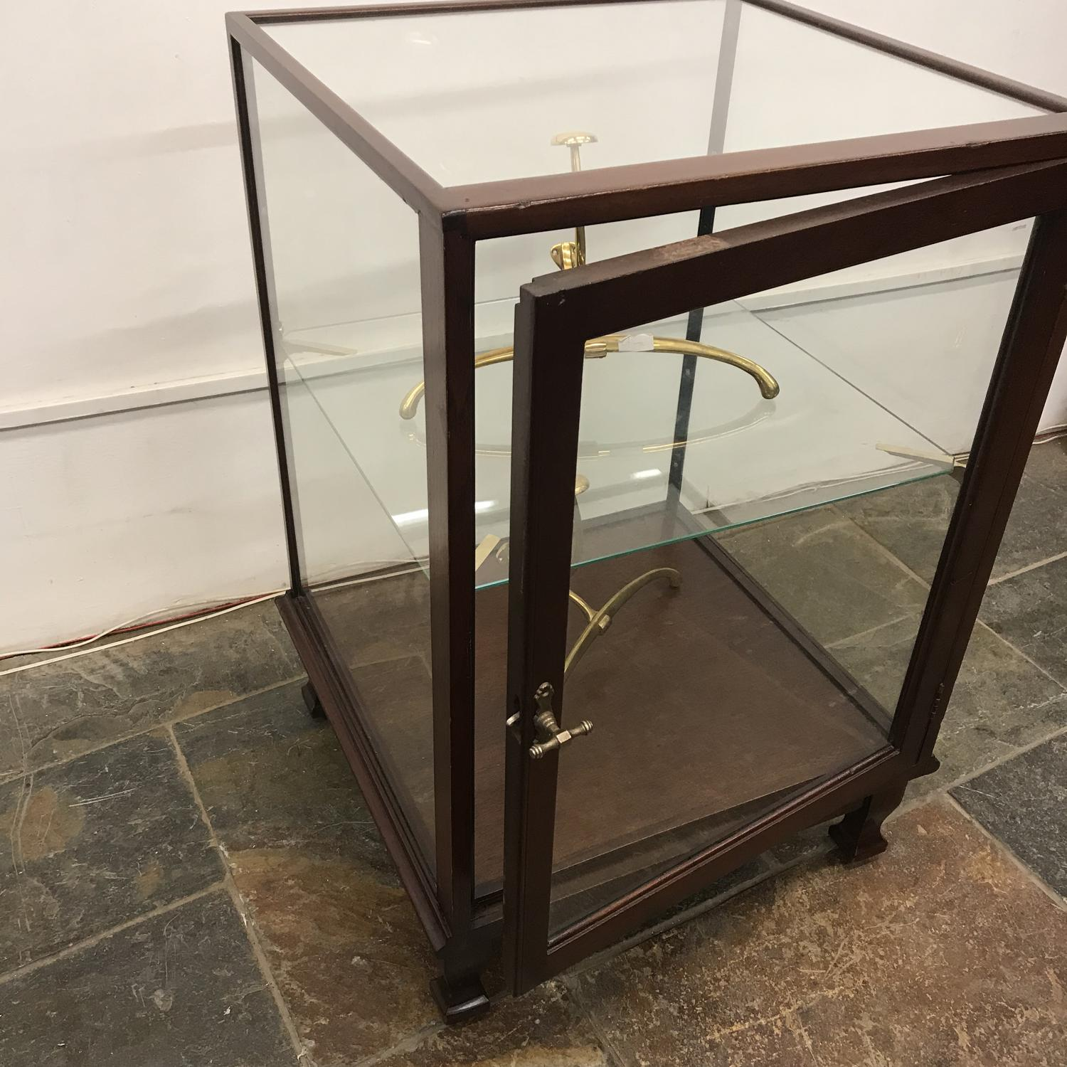 Rare 1920s Mahogany shop Display Counter