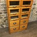 Vintage Drapers Haberdashery Shop Display Cabinet - picture 3