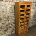 Vintage Drapers Haberdashery Shop Display Cabinet - picture 4