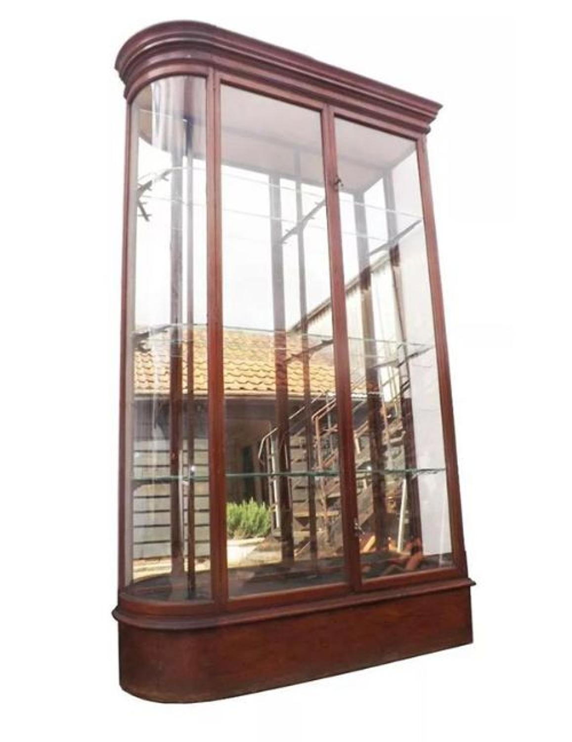 Victorian Shop Jewellery Display Cabinet