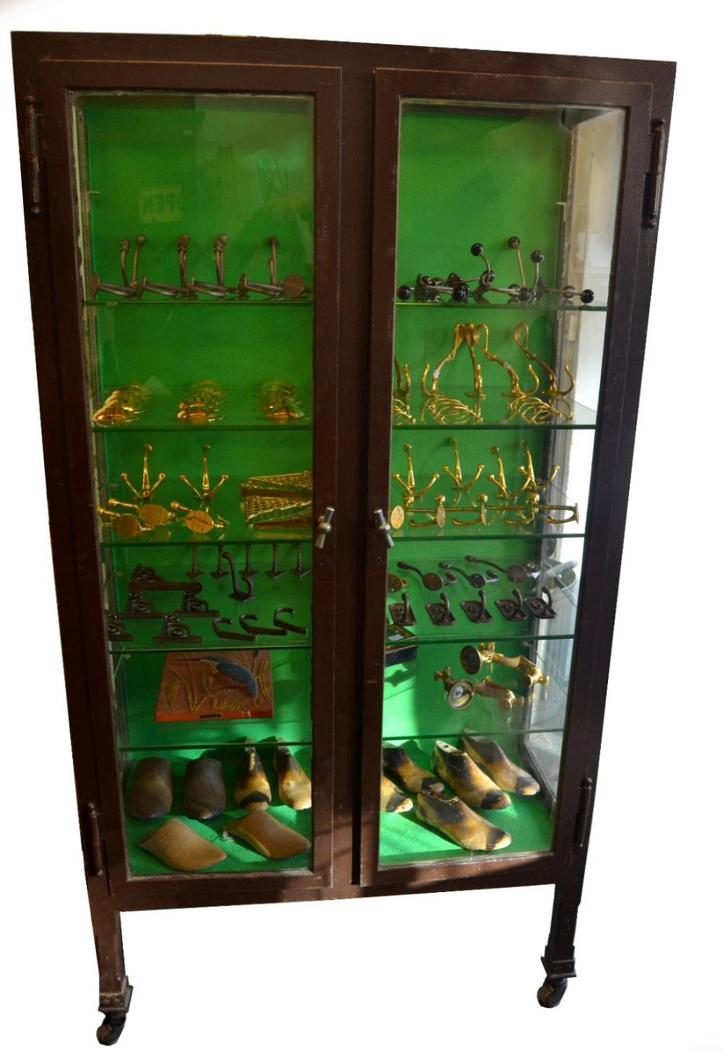 1920s Vintage Pharmacy Cabinet