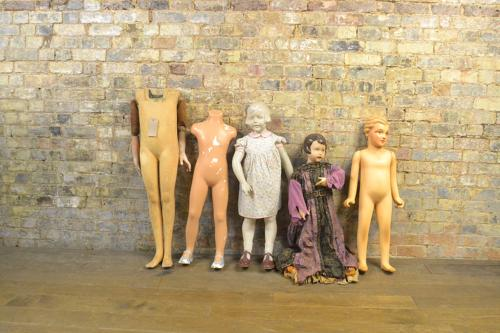 Selection of Vintage Antique Shop Display Mannequins