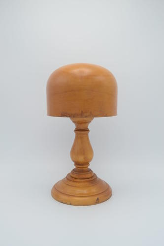 Vintage 1930s Wooden Hat Blocks