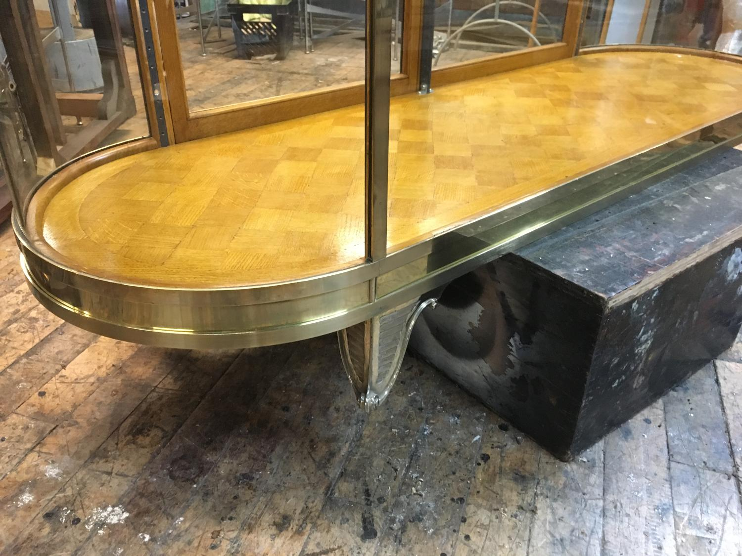 High Quality Brass Shop Counter Designed by D and A Binder