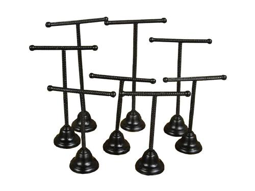 Shop Display Metal Brass and Chrome Shoe Stands