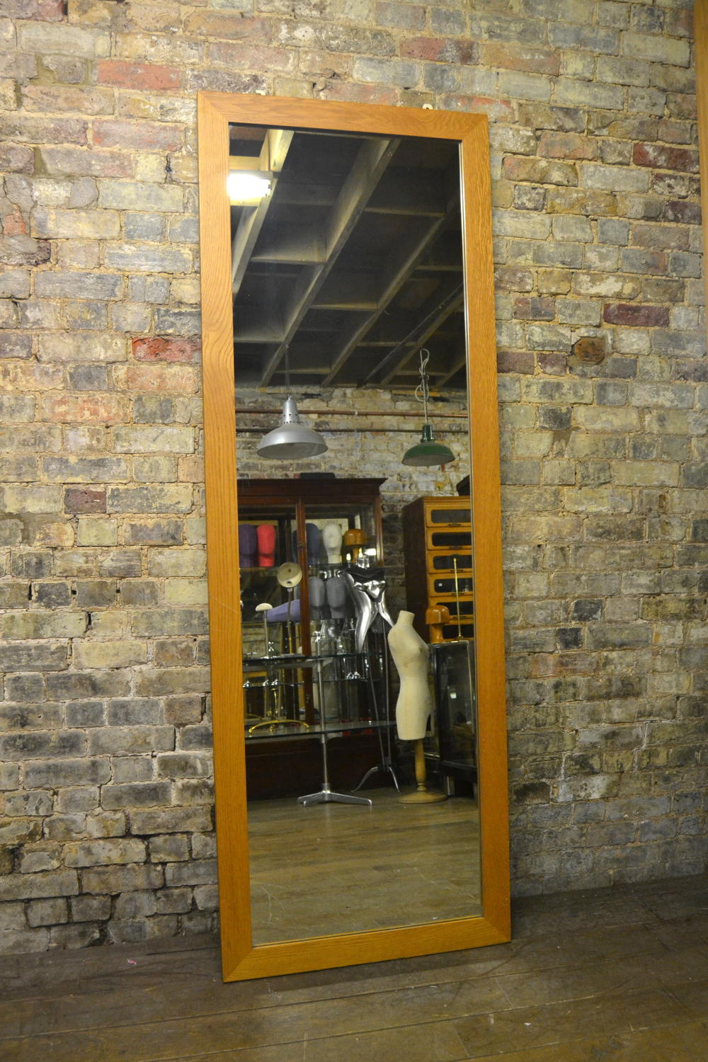 Tall Oak Shop Mirror