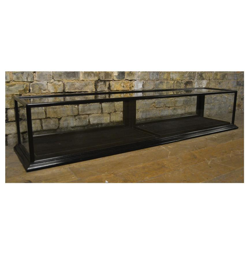 Black Jewellery Shop Display Counter Top Cabinet
