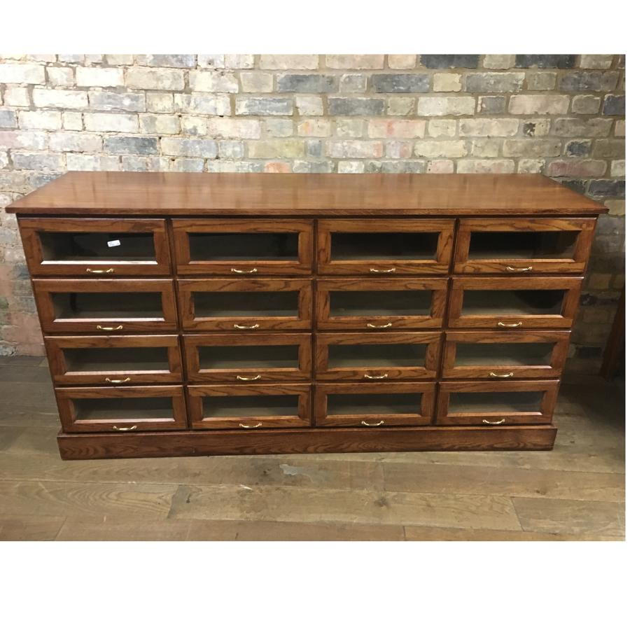 Low Oak Haberdashery Drapers Drawers