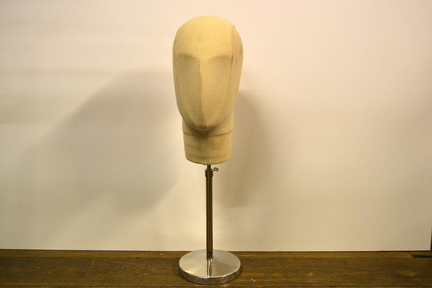 Cream shop display Mannequin Head