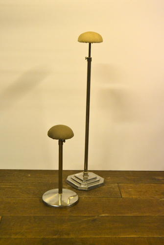 Chrome Hat display  Stands