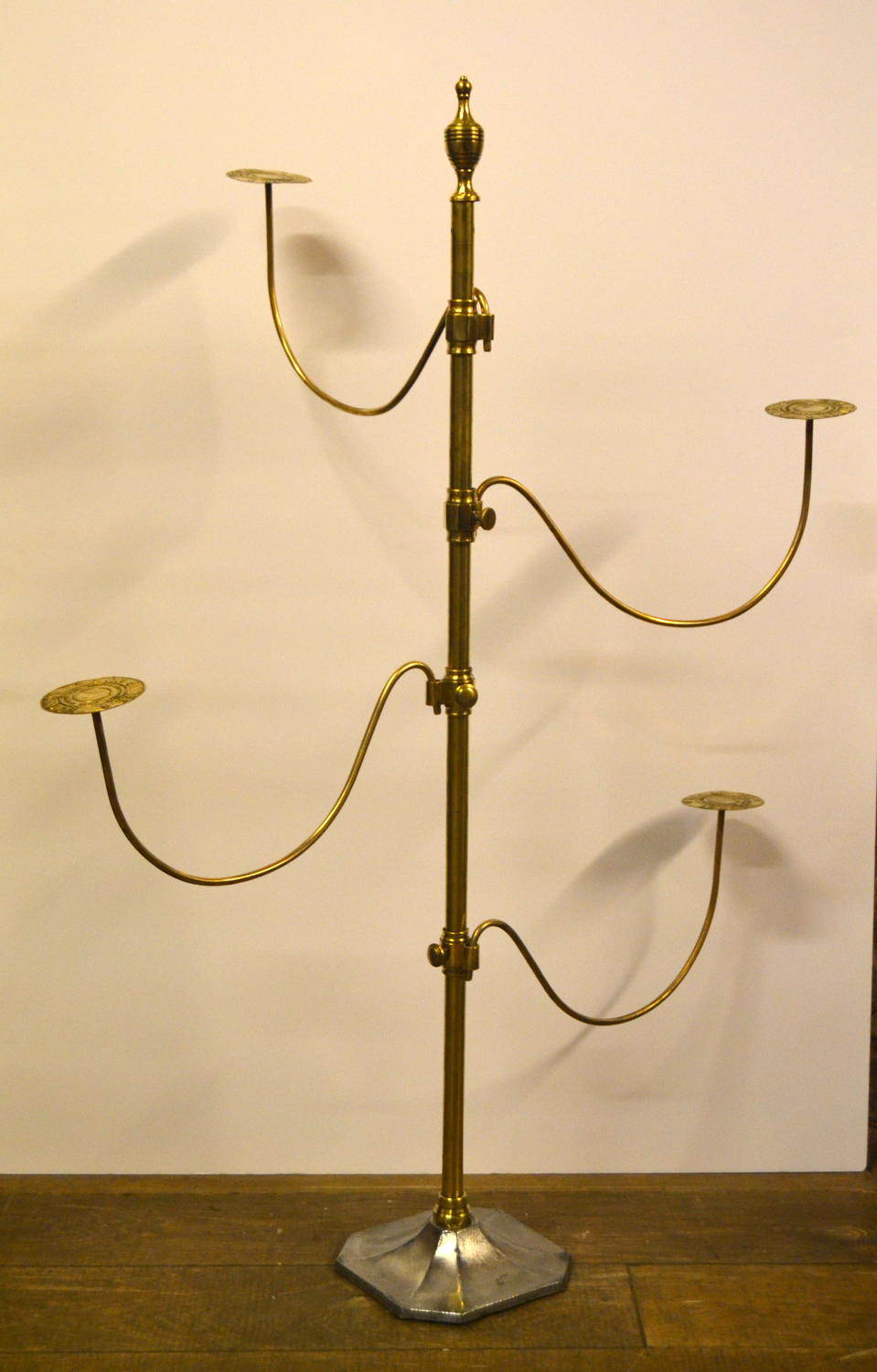 Antique Large brass Hat Stand