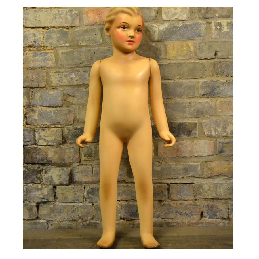 Vintage Child Mannequin