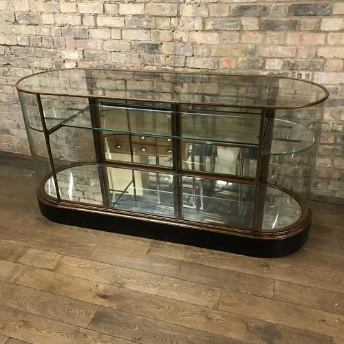 Victorian bow end shop counter from Aspreys