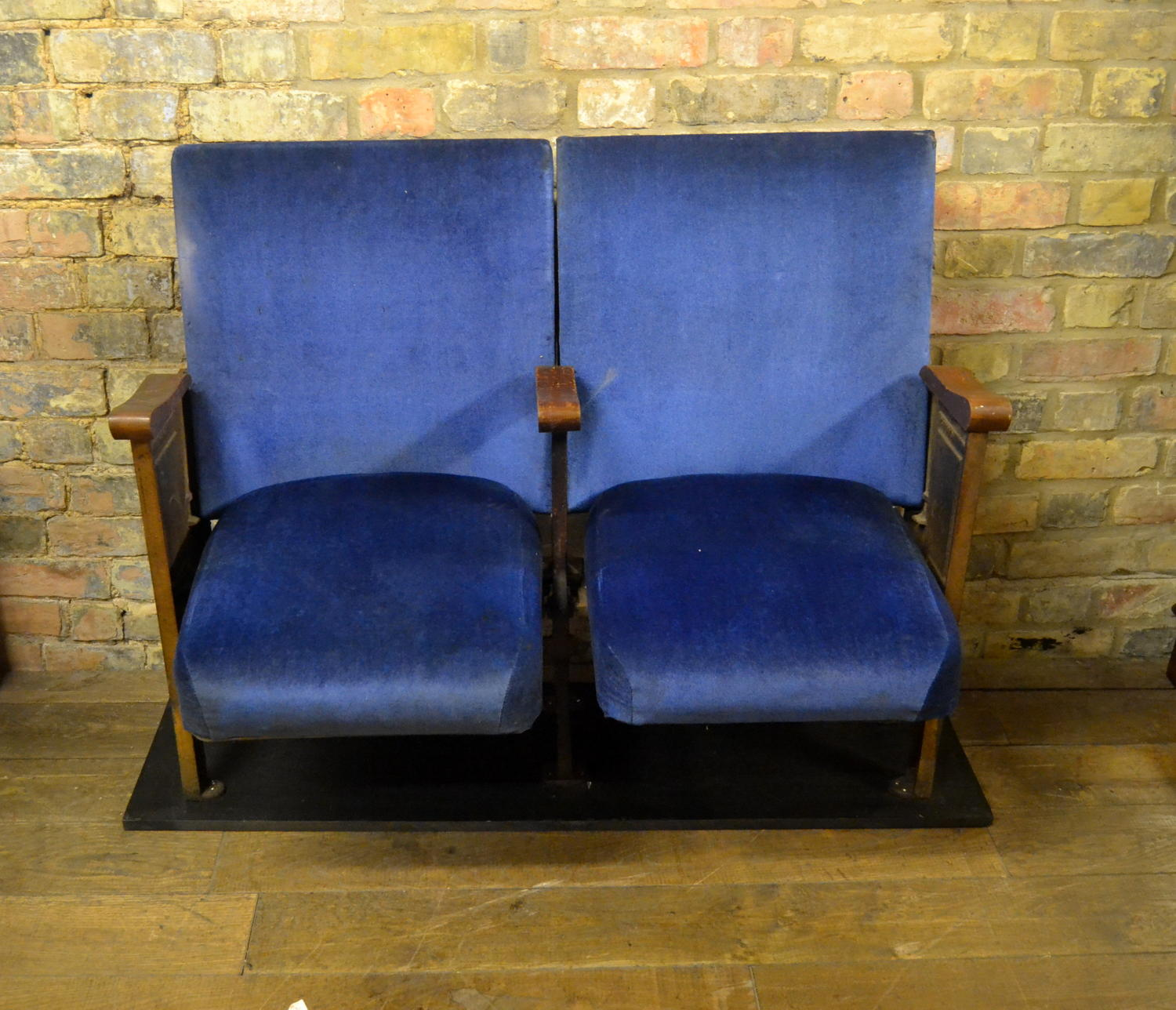 Antique Cinema Theatre Seats