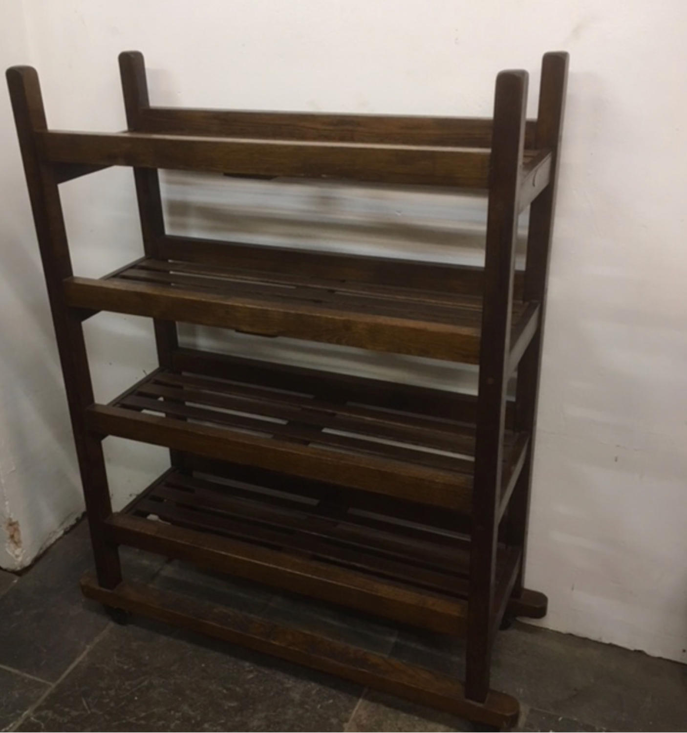 Old Oak shoe or bread factory trolley