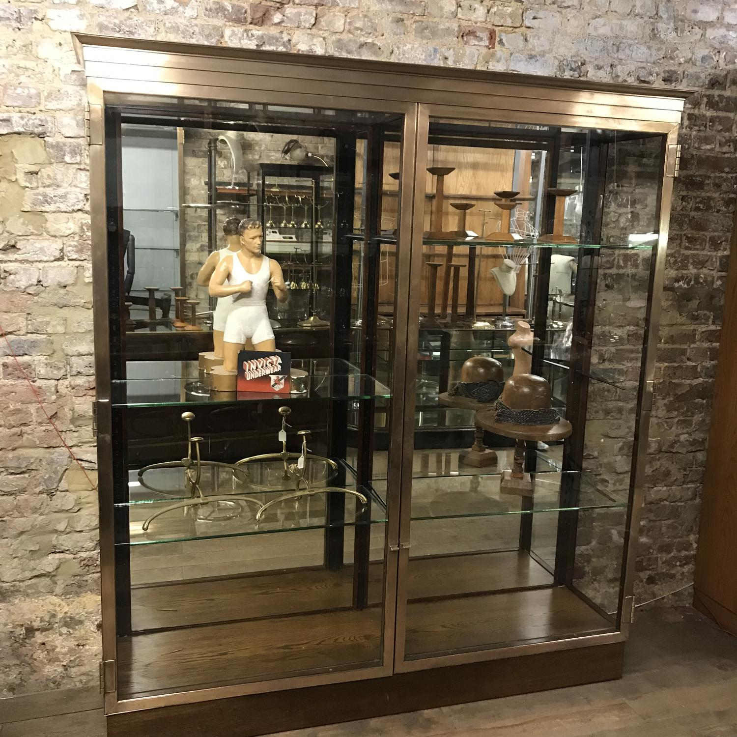 Two Door Bronze V&A Museum Cabinet from Damian Hirst