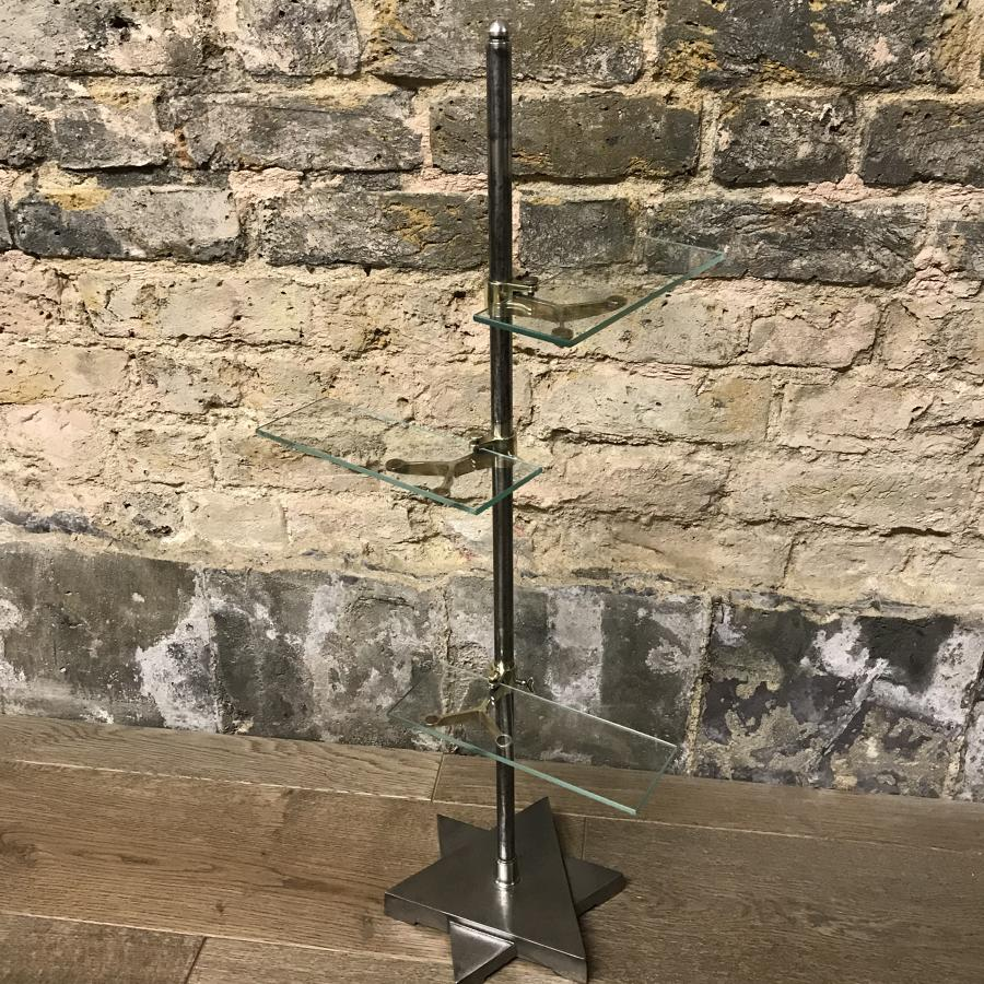Victorian Table Top Shop Display Glass Stand