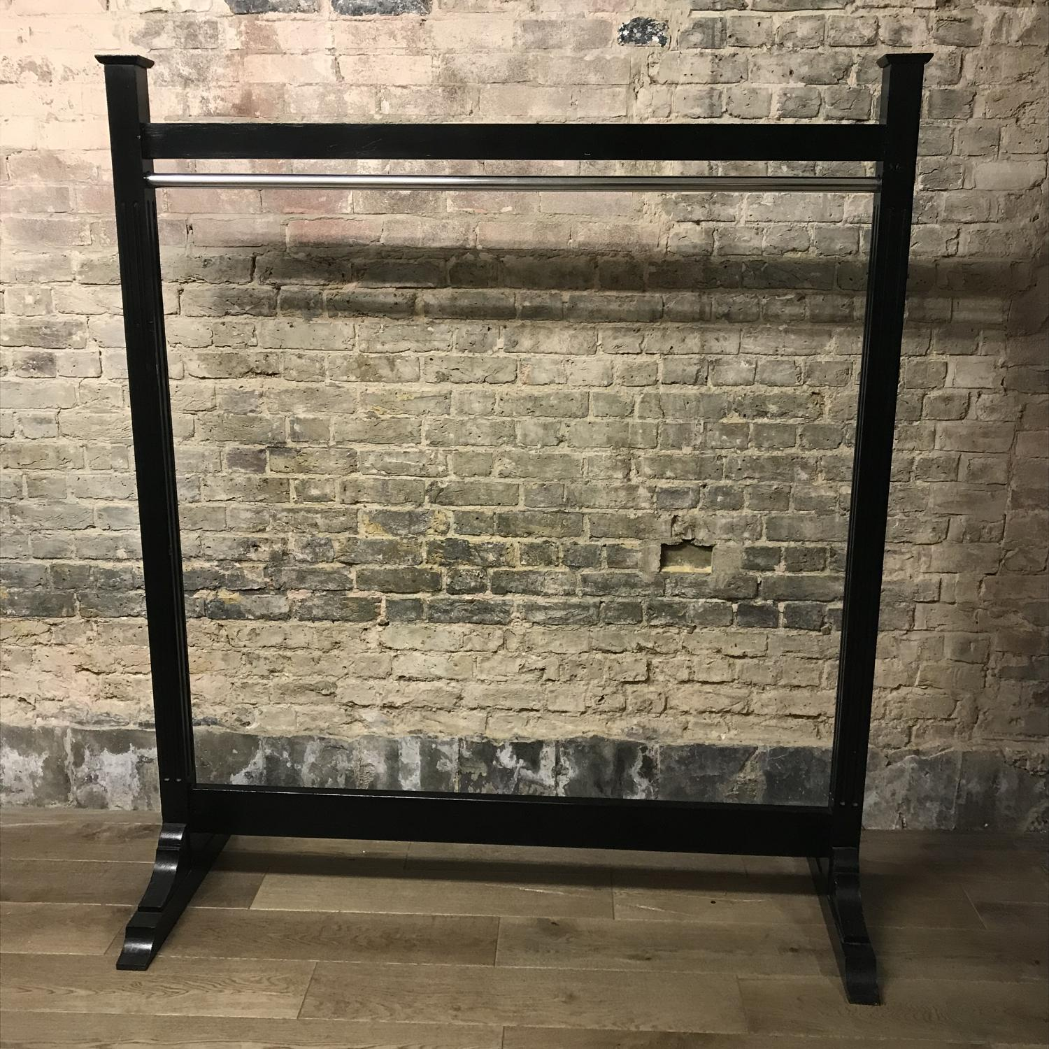 Antique Ebonized Hanging Rail