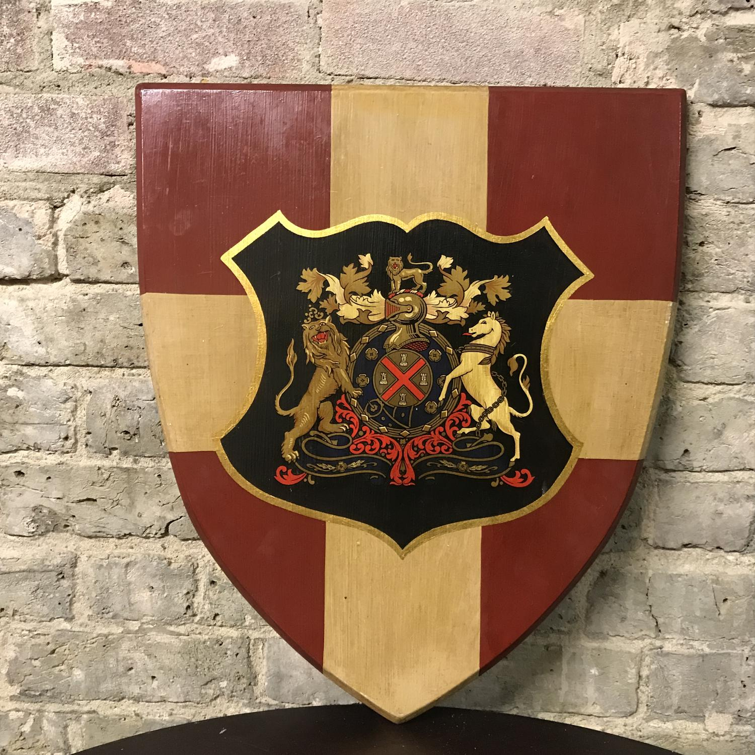 Decorative Wooden Shields