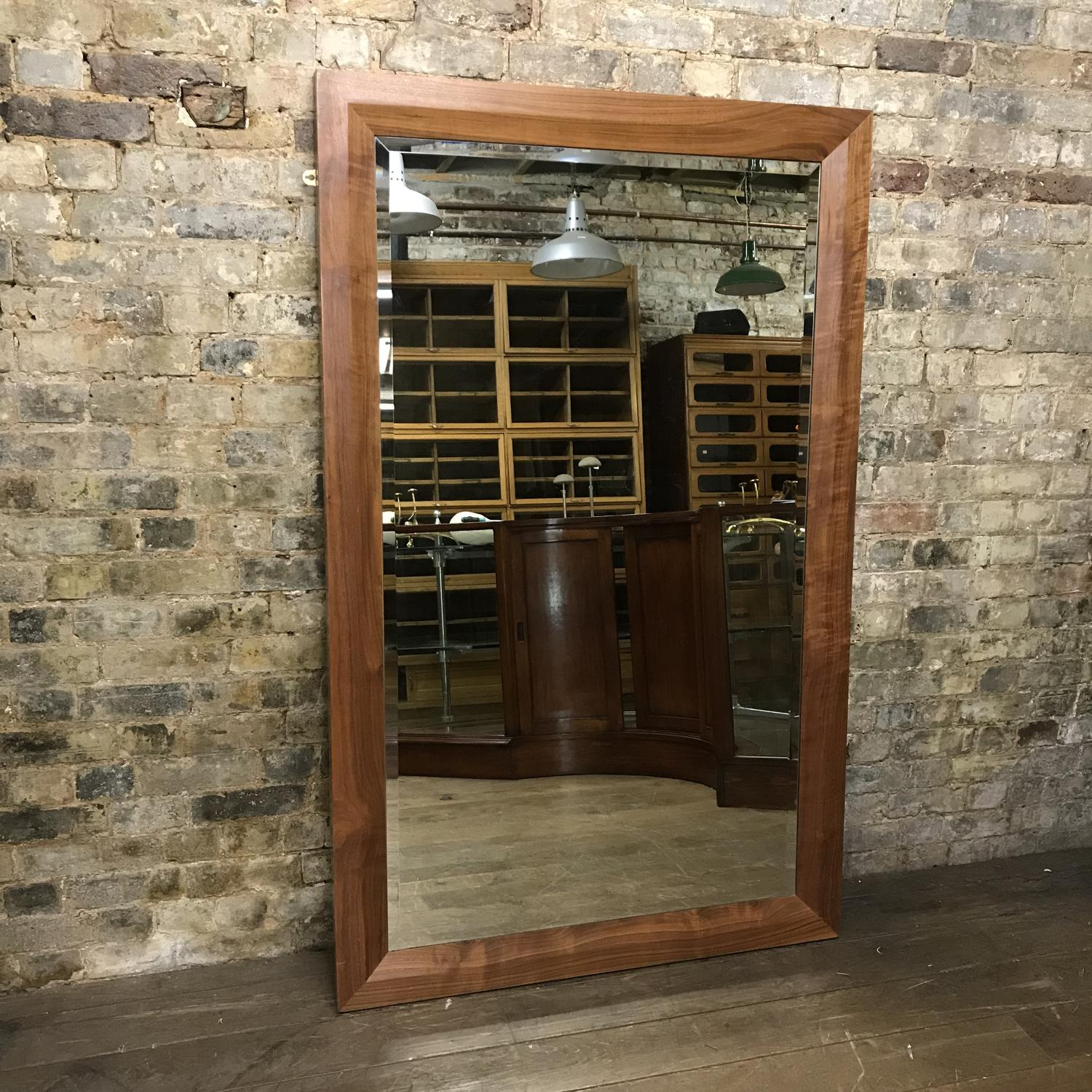 Four Walnut Mirrors