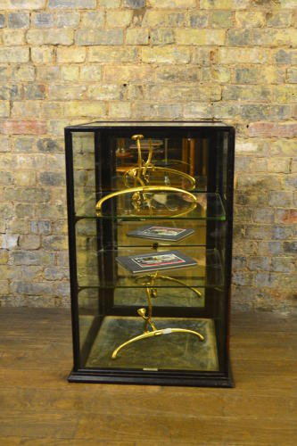 Edwardian Mirrored Display Cabinet