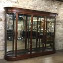 Victorian 3 door bow wall cabinet - picture 1