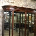Victorian 3 door bow wall cabinet - picture 6