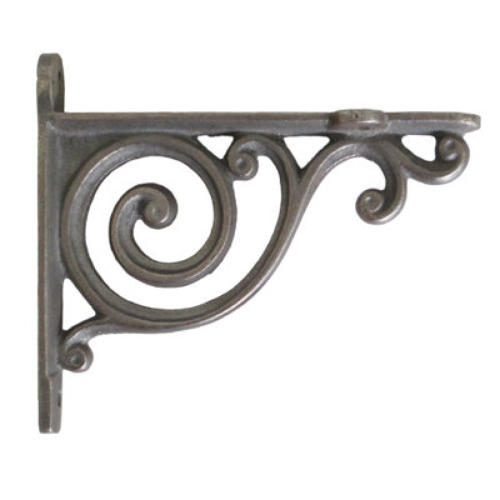 Small Cast Iron Bathroom Shelf Bracket