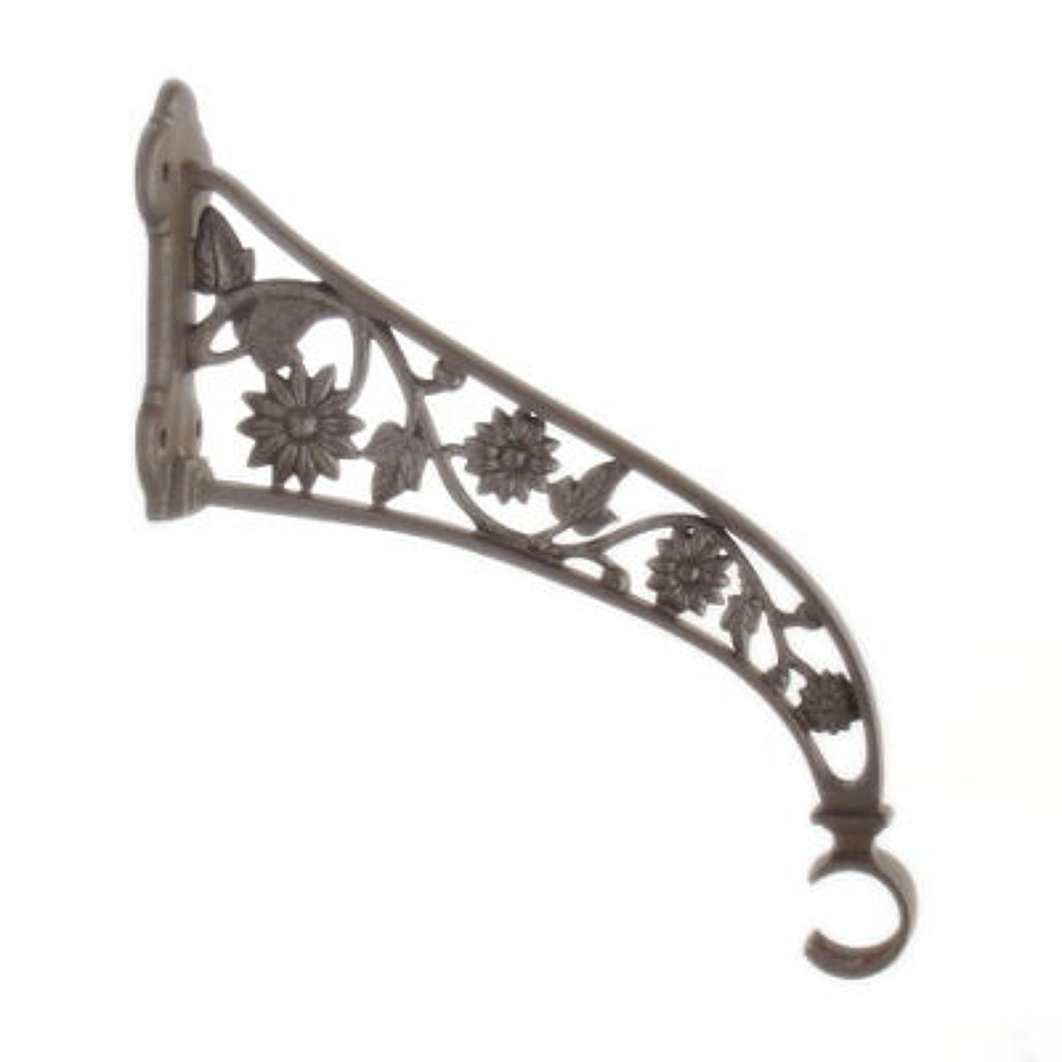 Cast Iron Decorative Flower Hanging Basket Bracket