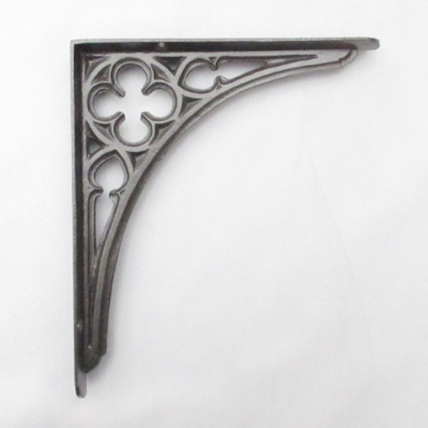 Small Cast Iron Gothic Shelf Bracket