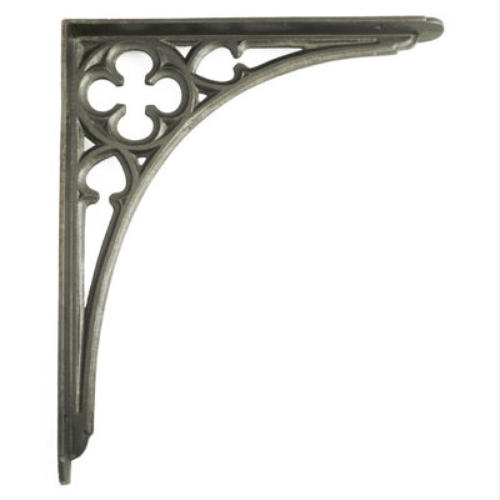 Large Cast Iron Gothic Shelf Bracket