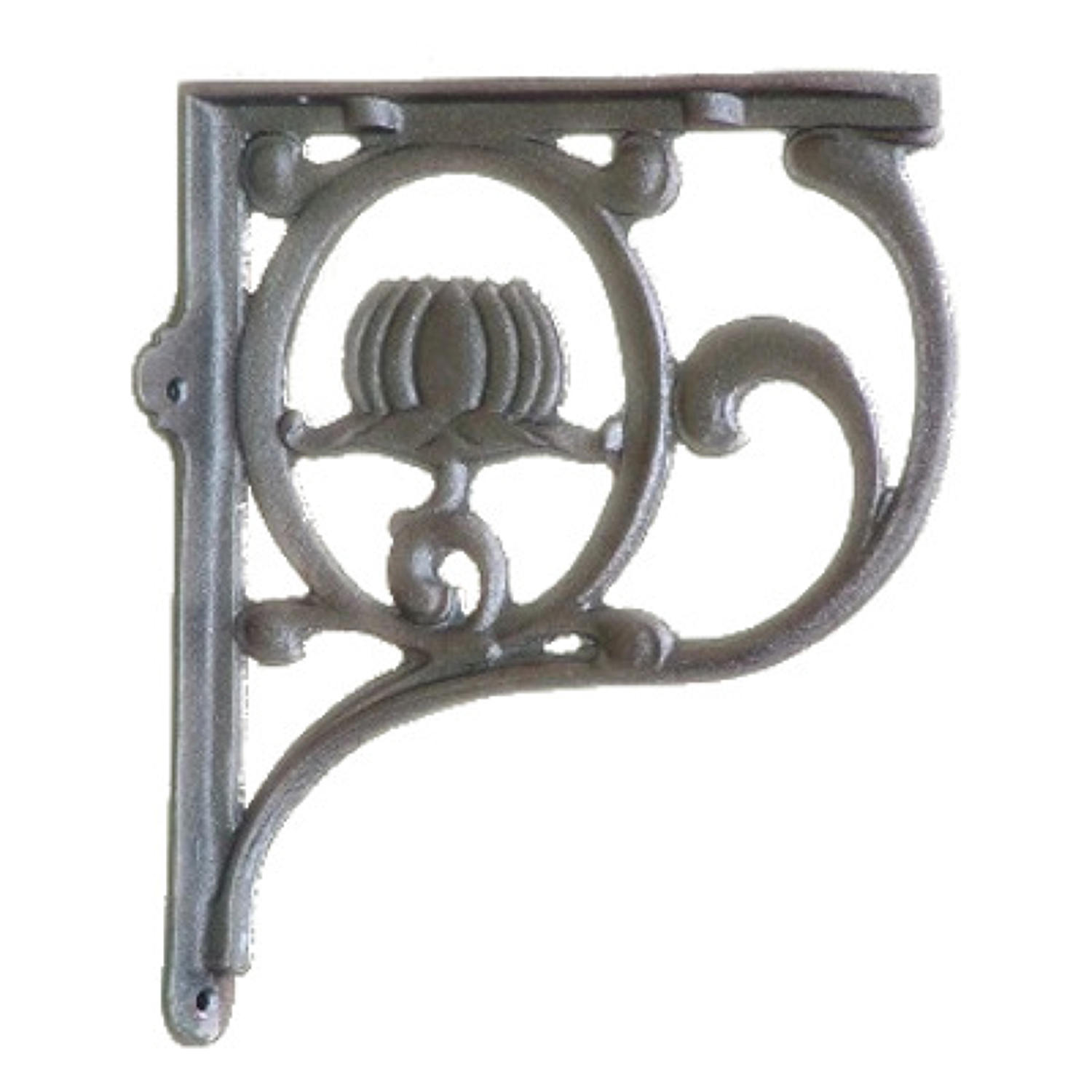 Decorative Cast Iron Art Nouveau Shelf Bracket