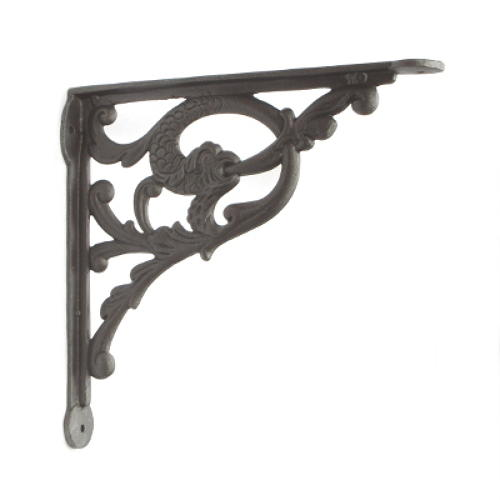 Cast Iron Jumping Fish Shelf Bracket