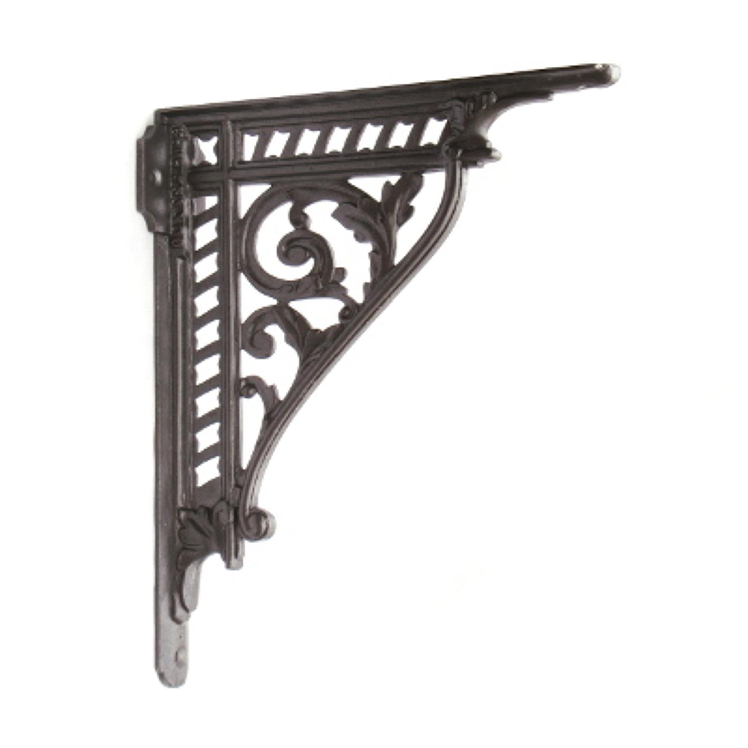 Cast Iron Victorian Trellis Shelf Bracket