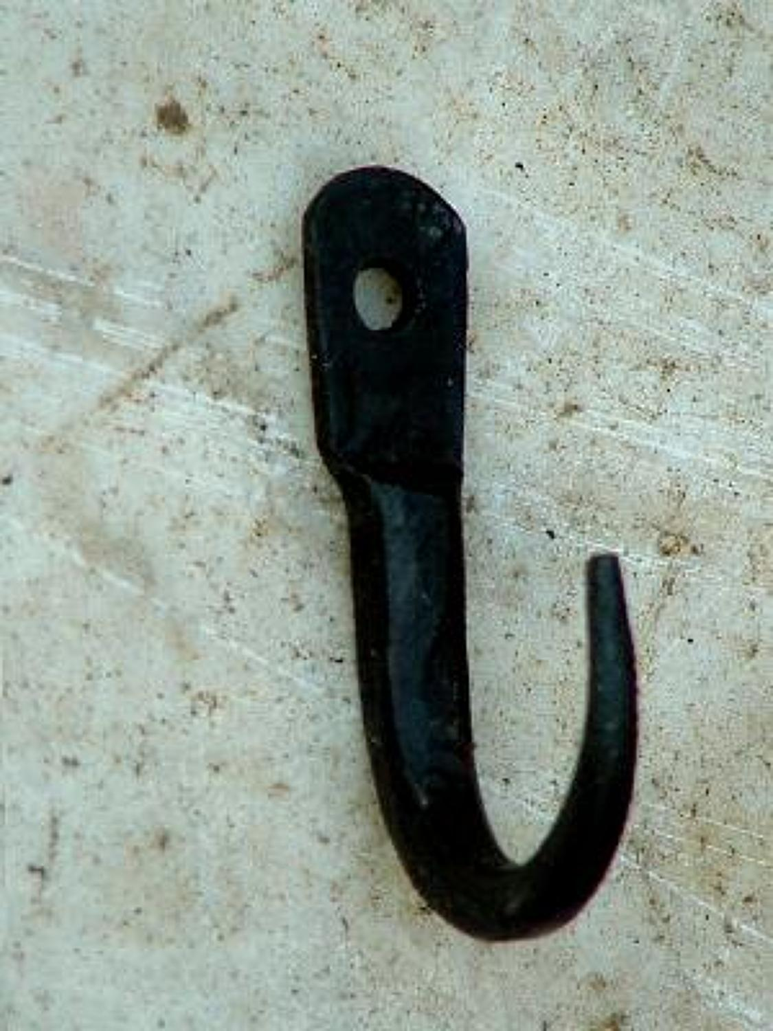 Tiny Wrought Iron Meat Hook