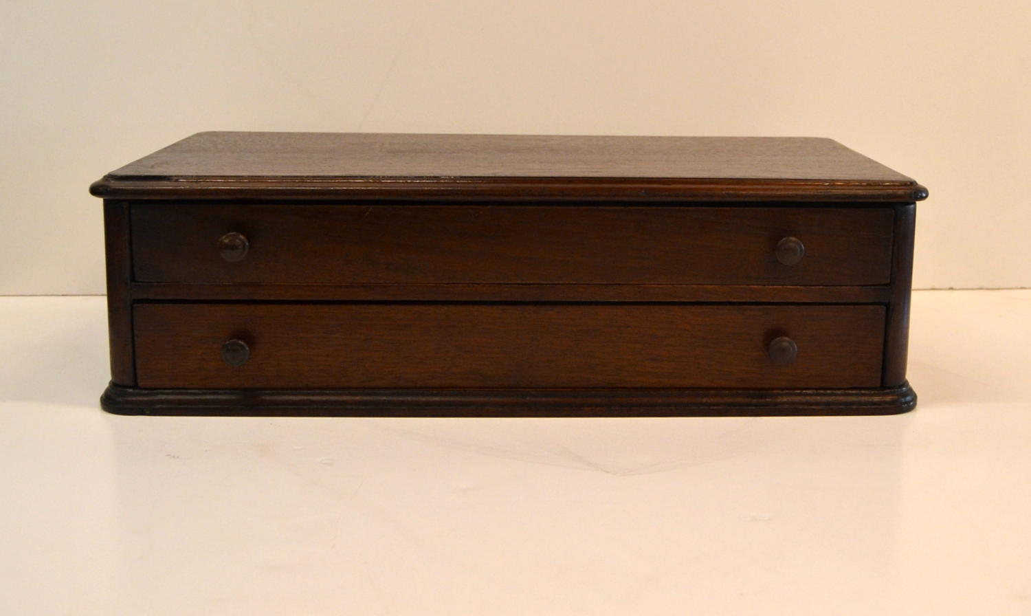 Mahogany Drapers Needle Drawers