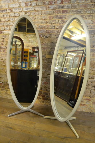 Pair of White Nigel Coates Mirrors