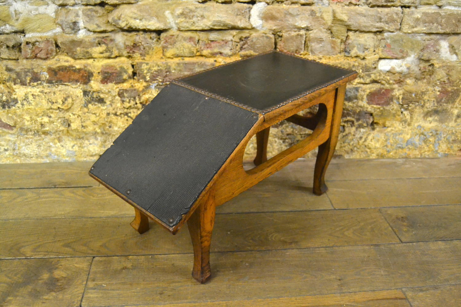Leather Shoe Stool