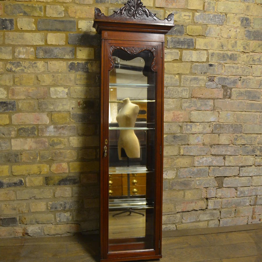 Pair of Victorian Jeweller's Wall Cabinets