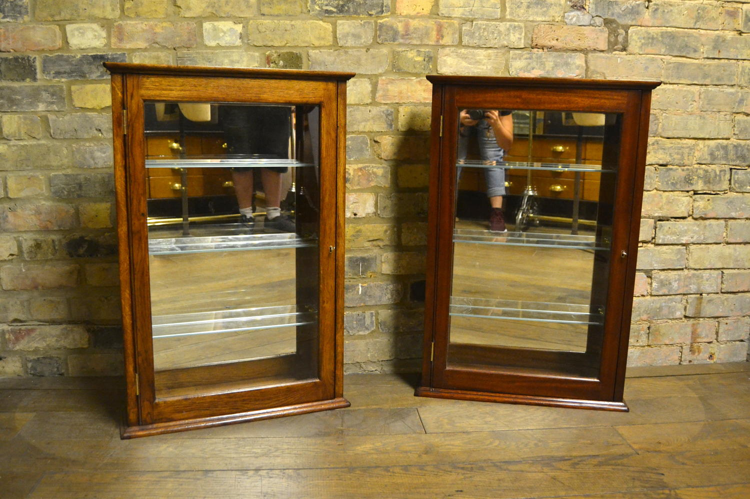 Small Bespoke Display Wall Cabinets