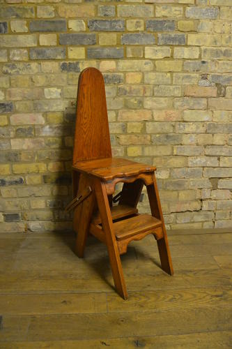 1920s Metamorphic Chair Ladder Ironing Board