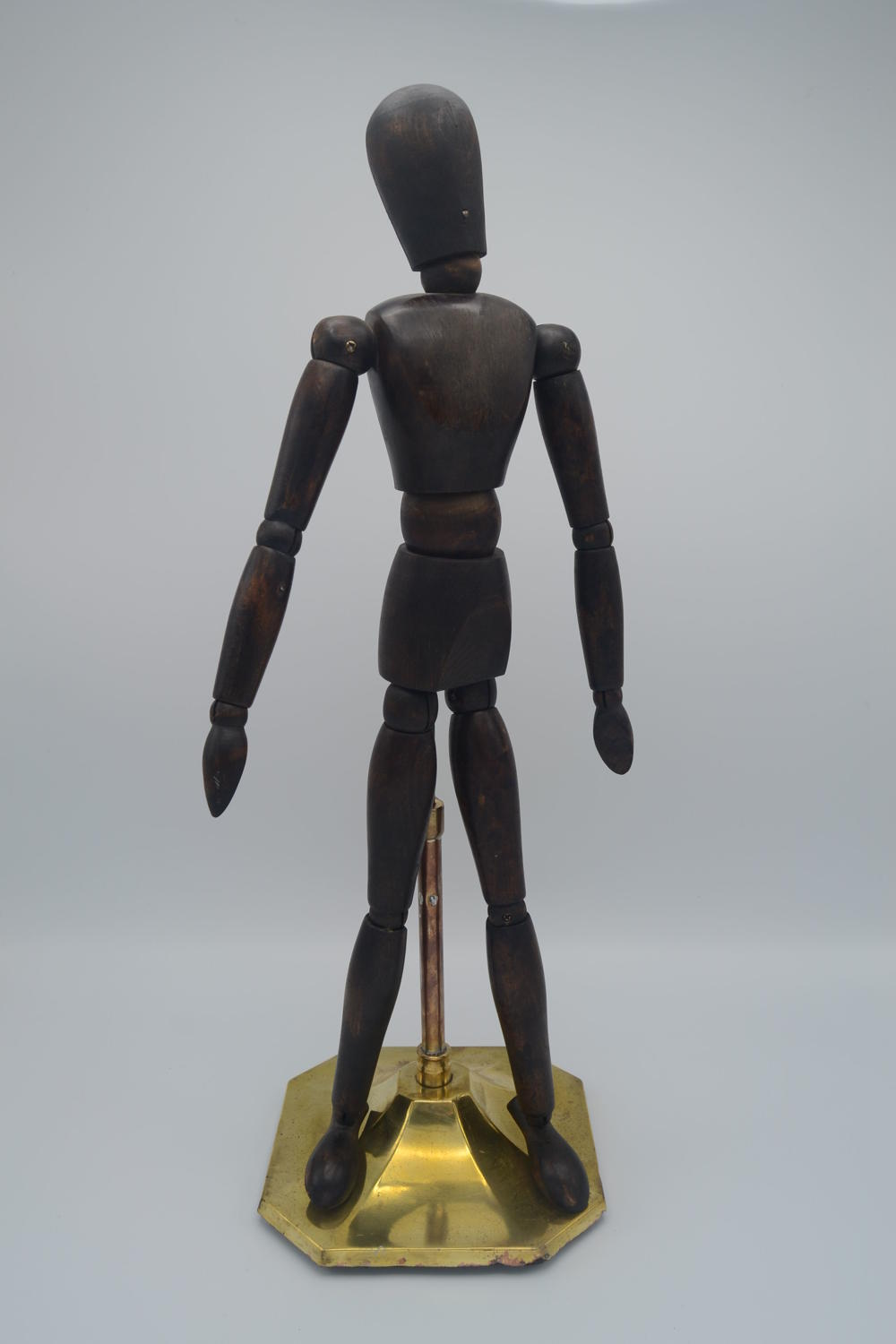 Small Adjustable Wooden Man Figure