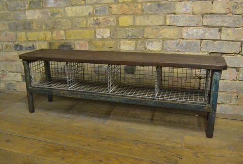 1920s School gym shoe Bench