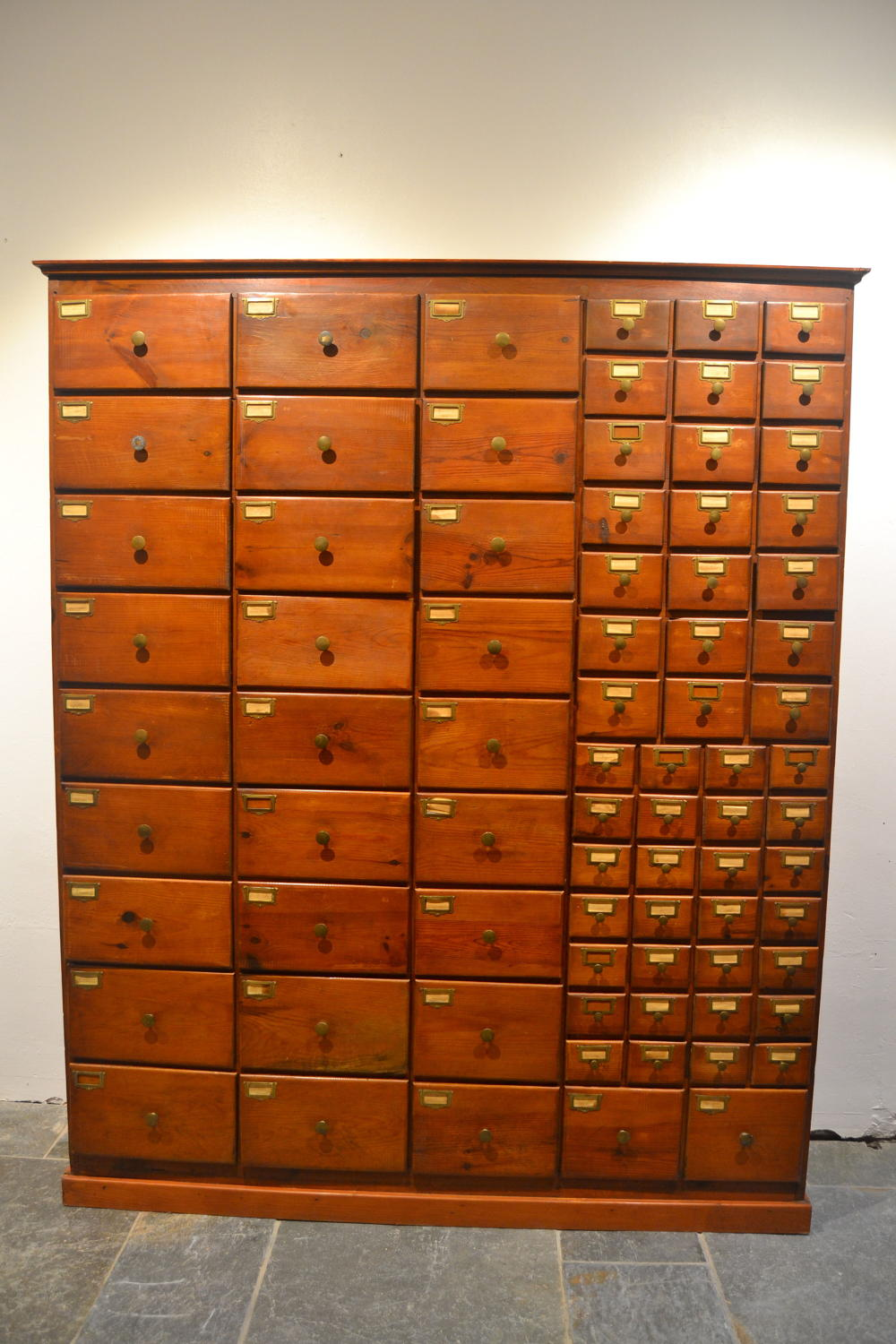 Large Bank Pine Drawers