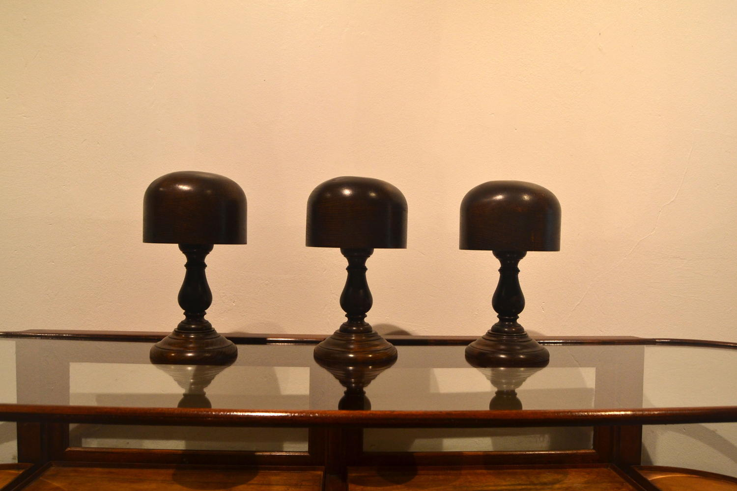 Wooden Hat Display Stands
