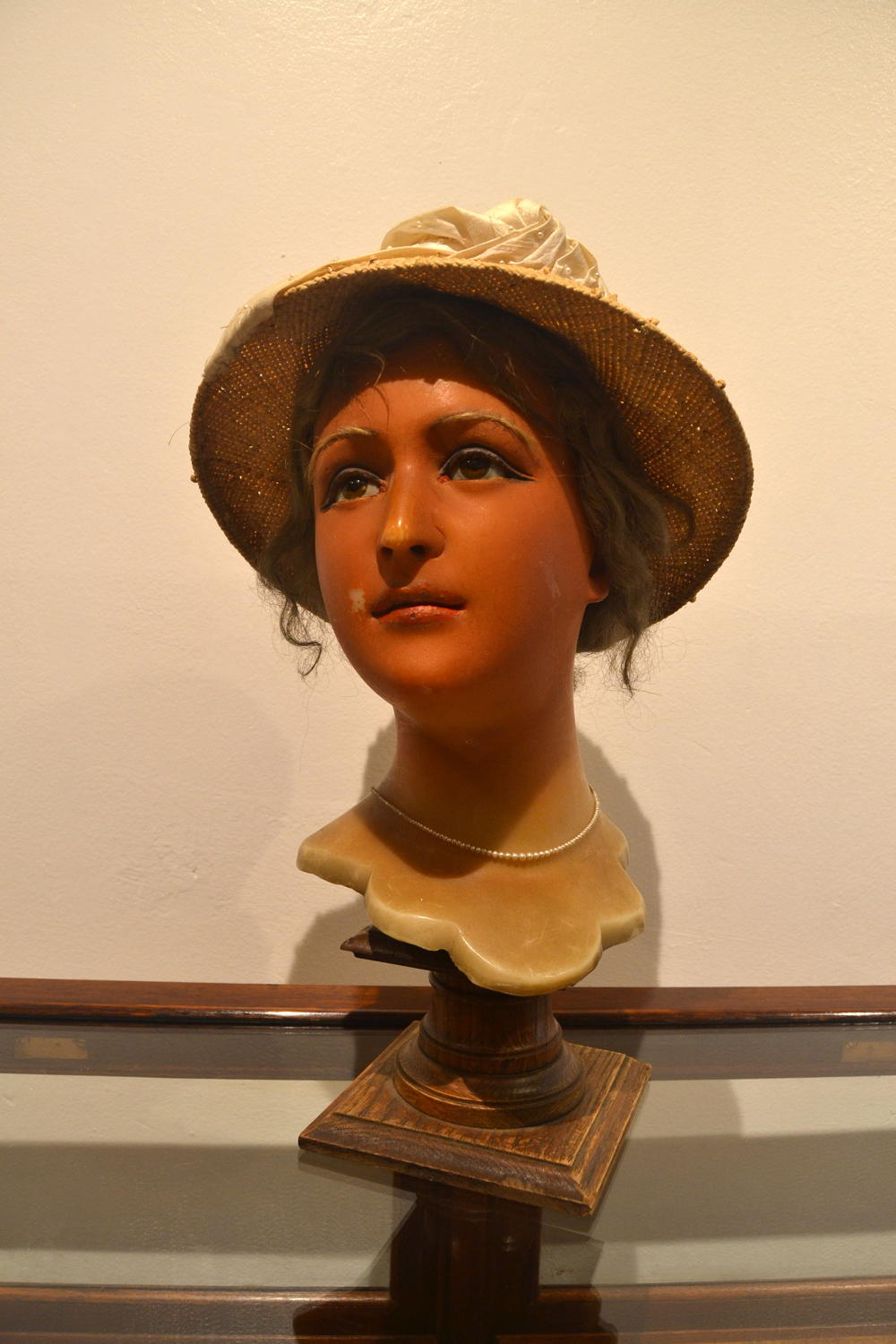 Antique Mannequin Head